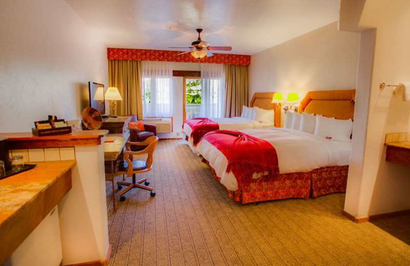 Guest Room at Table Mountain Inn
