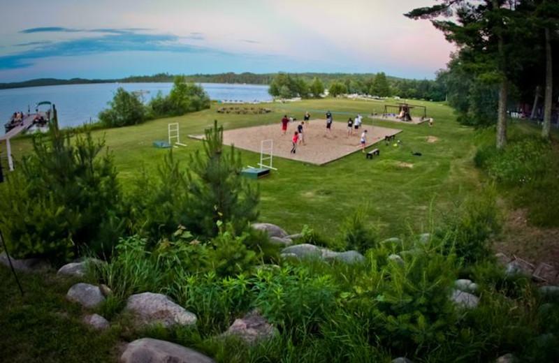Family reunions at Thunder Lake Lodge.