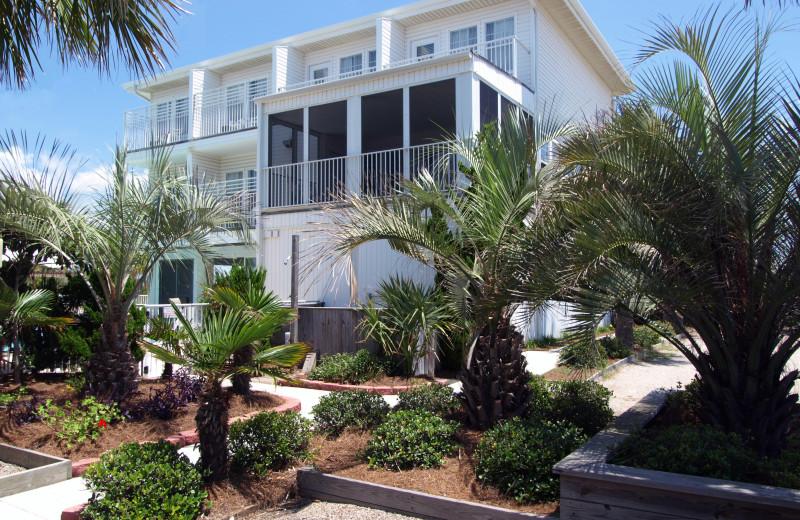 Rental exterior of The Winds Resort Beach Club.