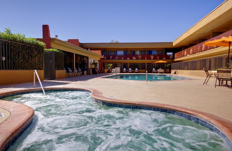 Outdoor pool at Best Western Royal Sun Inn & Suites.