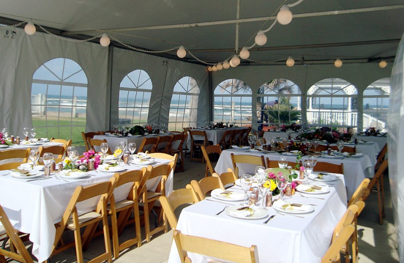 Wedding reception at Coral Sands Oceanfront Resort.