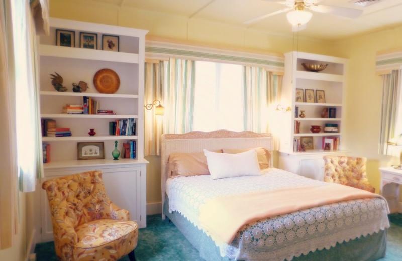 Guest room at Inn at Solvang.