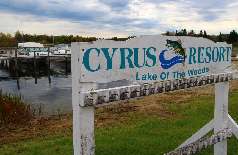 Exterior view of Cyrus Resort.