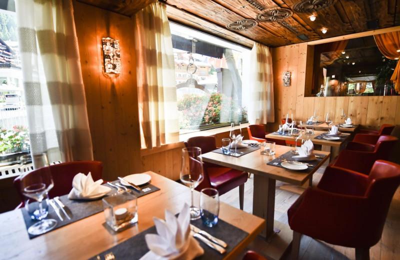 Dining at Alpenhof.