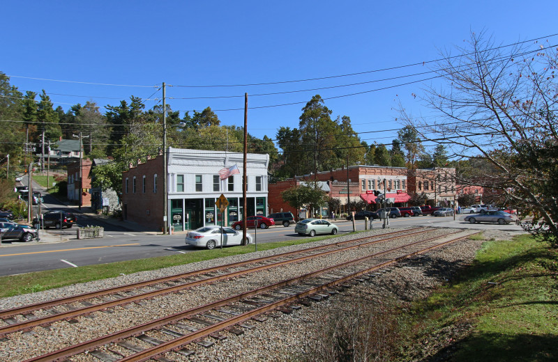 Dowtown at Orchard Inn and Cottages.
