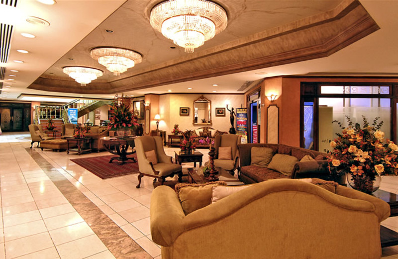 Lobby view at Amon Park Plaza Hotel.