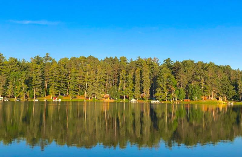 Lake at Moore Springs Resort.