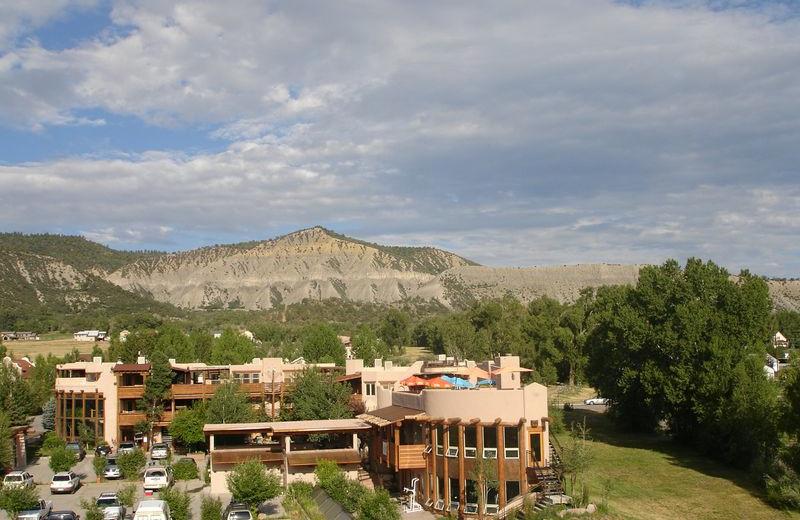Aerial View of Chipeta Solar Springs Resort