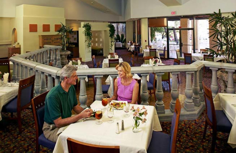 Dining at Hilton Tucson El Conquistador Golf & Tennis Resort.