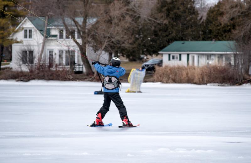 Winter at Elmhirst's Resort.