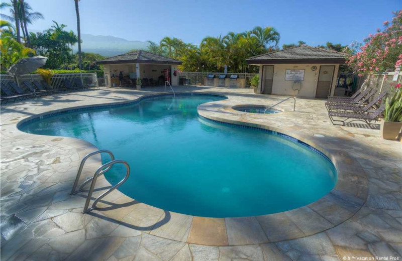 Rental pool at Vacation Rental Pros - Maui.
