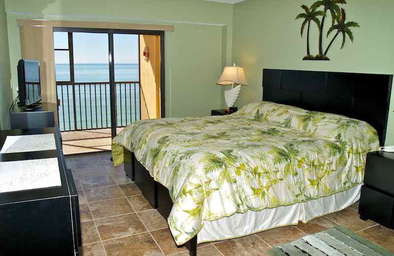 Guest room at Resort Rentals.