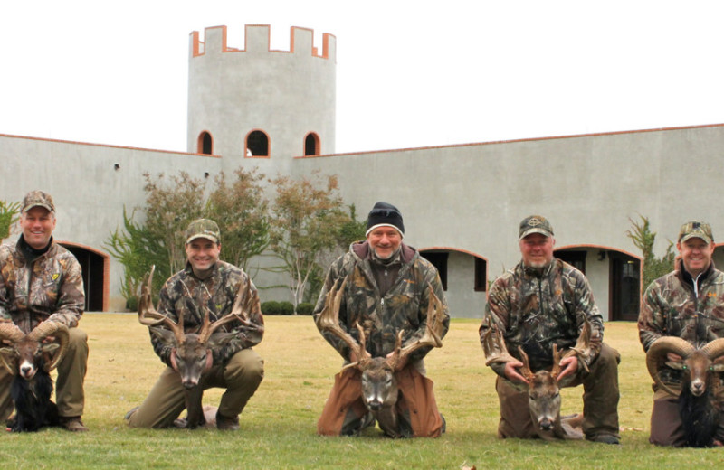 Deer hunting at Greystone Castle Sporting Club.