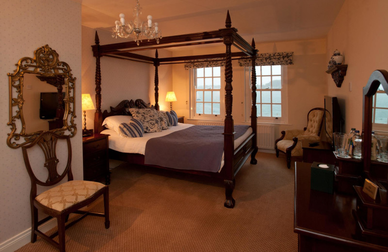 Guest room at Portaferry Hotel.