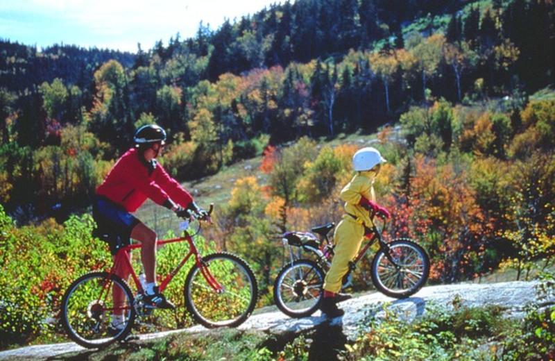 Biking at Best Western Acadia Park Inn.