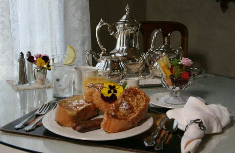 Breakfast at Foxes Bed and Breakfast.
