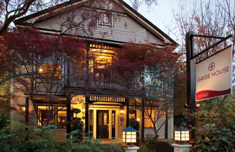 Exterior view of Gaige House Inn.