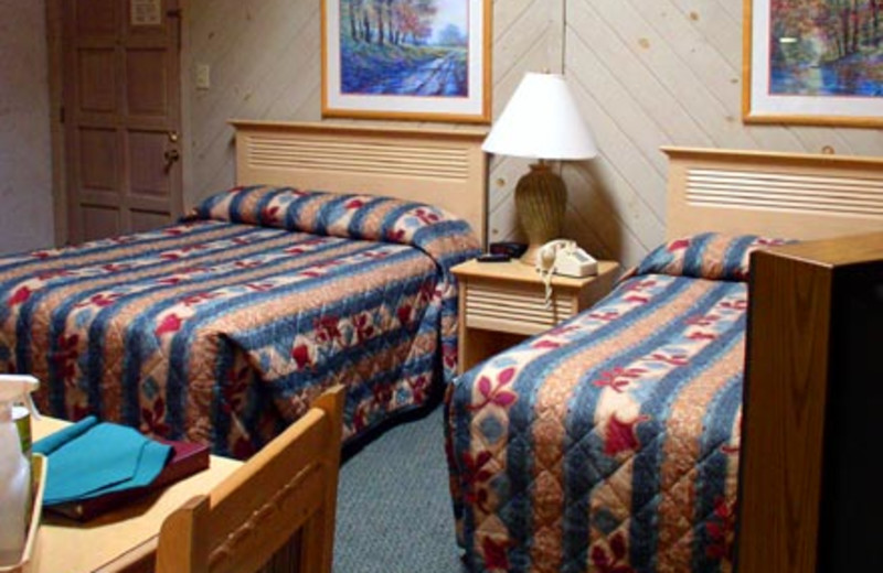 Guest Room at the Smoketree Lodge