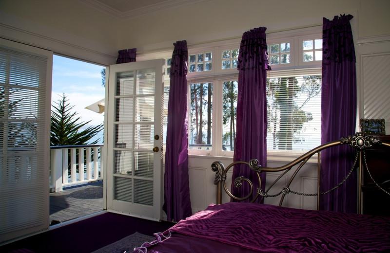 The view at Monarch Cove Inn.