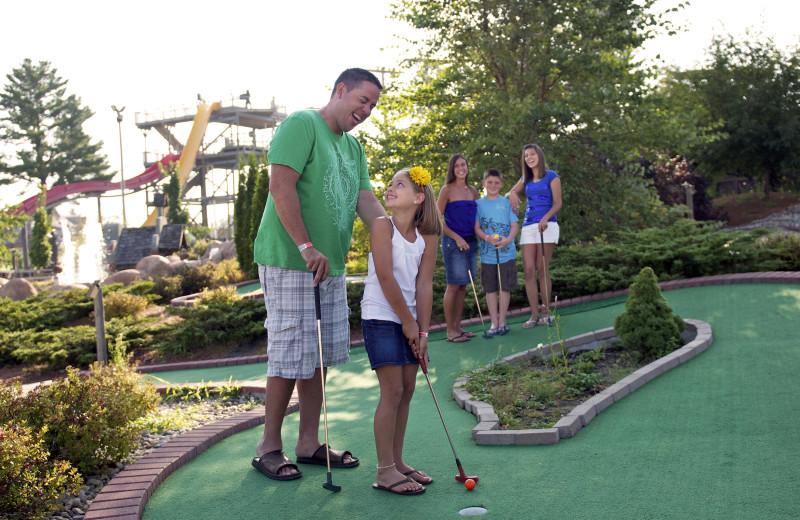Mini golf at Chula Vista Resort.
