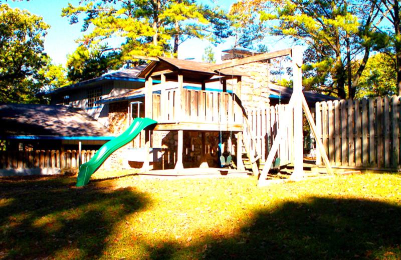 Playground at Brady Mountain Resort & Marina.