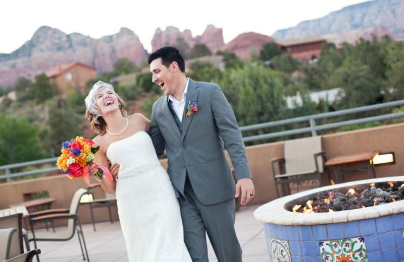 Wedding at Sedona Rouge Hotel.