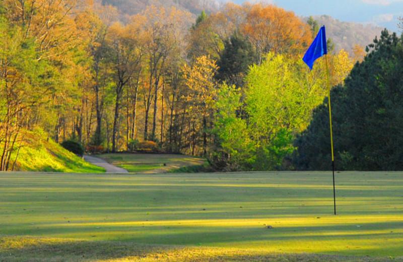 Gatlinburg Municipal Golf Course near Jackson Mountain Homes.