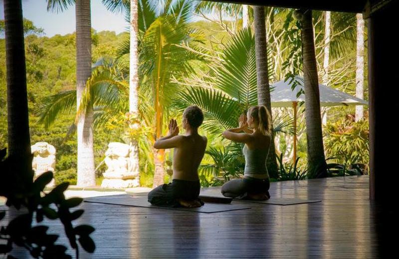 Yoga at Julatten Mountain Retreat.
