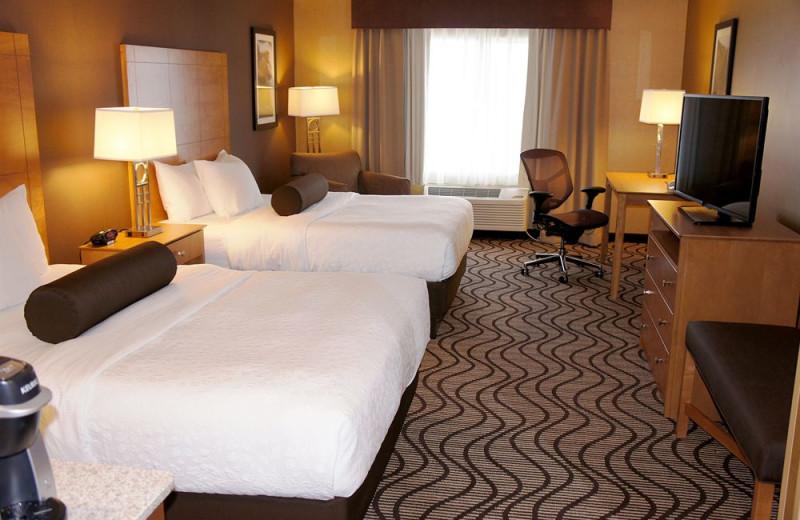 Guest room at La Quinta Inn Coeur d 'Alene Appleway.