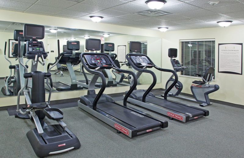Fitness room at Staybridge Suites - Stow.
