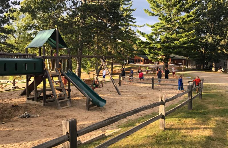Playground at Lakewood Lodge.