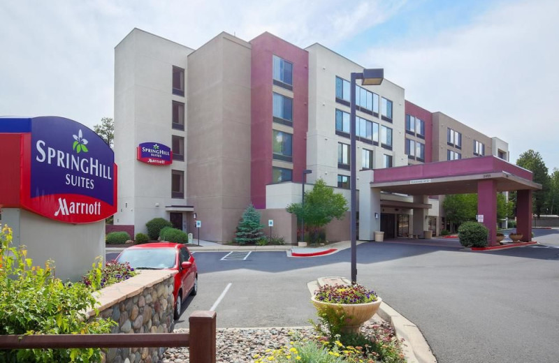 Exterior view of SpringHill Suites by Marriott Flagstaff.