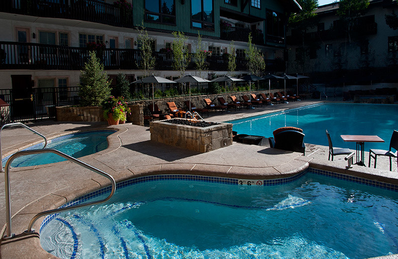Outdoor pool at The Lodge At Vail.