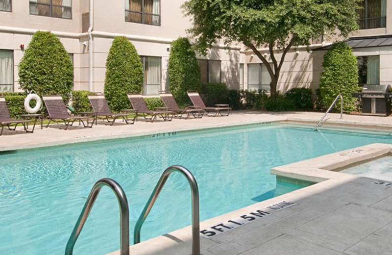Outdoor pool at Hyatt Summerfield Suites Dallas / Uptown.