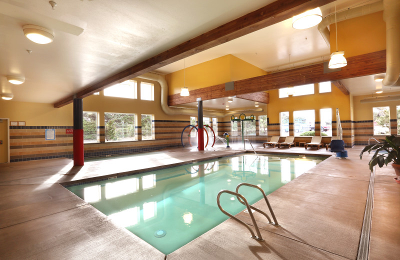 Indoor pool at Driftwood Shores Resort and Conference Center.