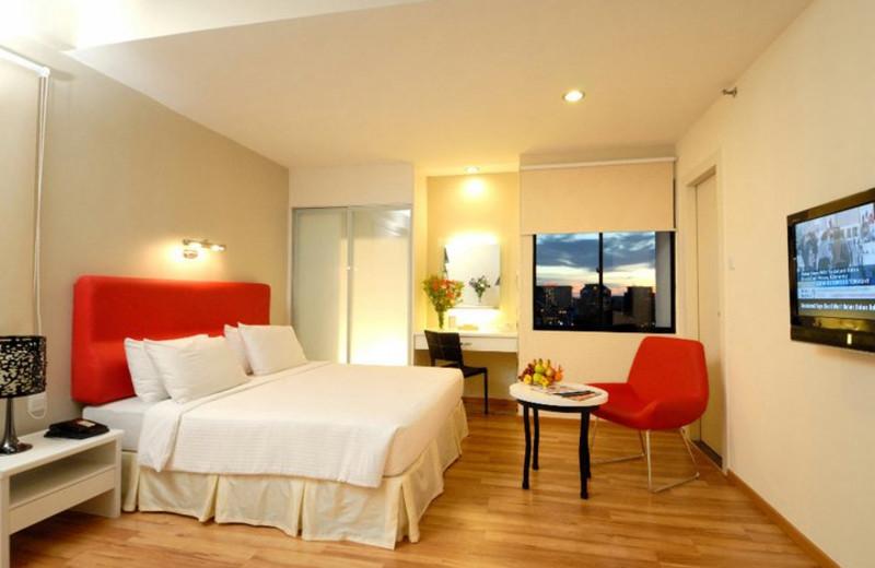 Guest room at Berjaya Palace Hotel.