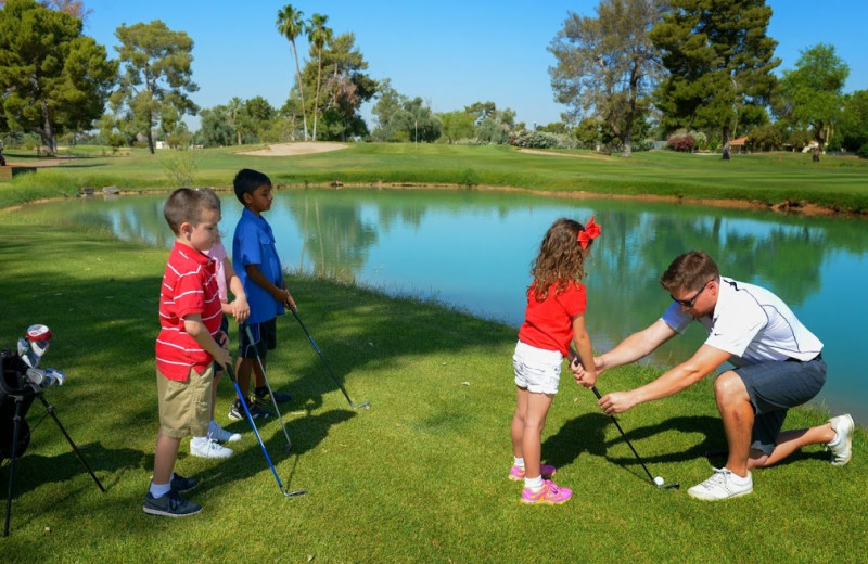 Golf lessons at The Wigwam Resort.