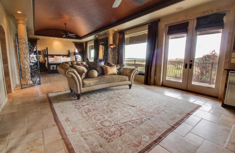 Rental bedroom at Vacasa Fredricksburg.
