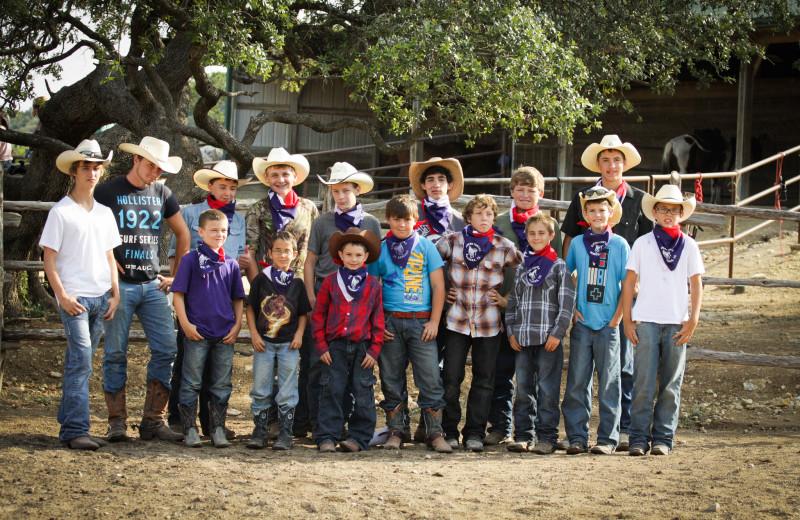 Group camp at Rancho Cortez.