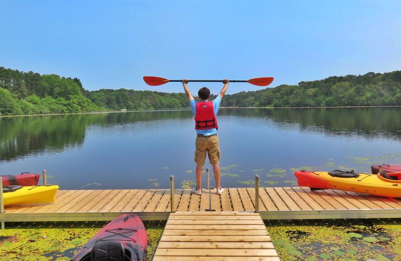 Kayaking at Ocean Edge Resort & Golf Club.