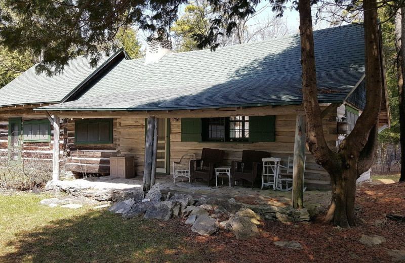 Rental cabin at Door County Vacancies.