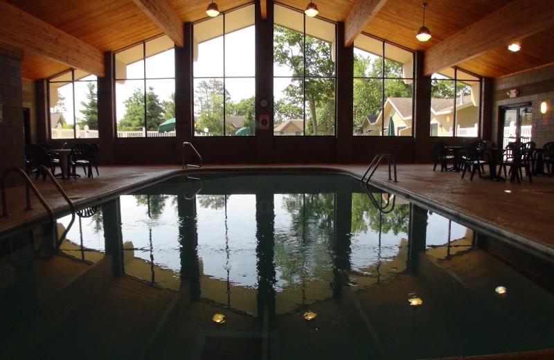 Indoor pool at Kavanaugh's Sylvan Lake Resort.