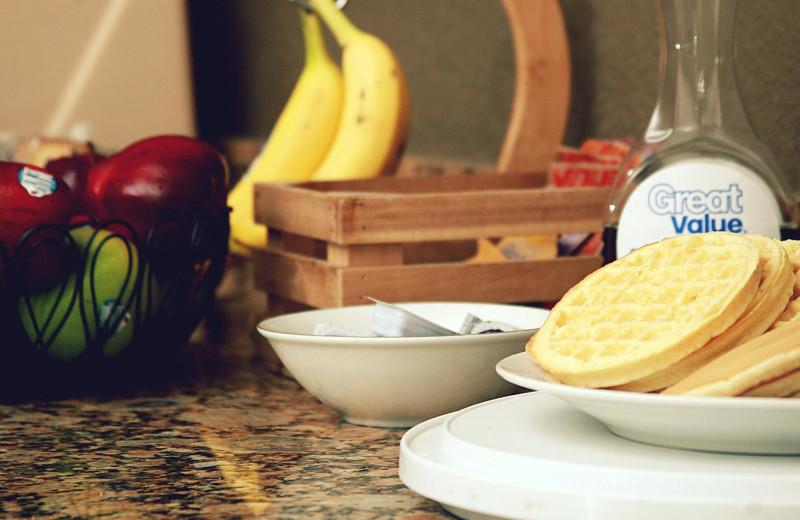 Breakfast at WindWater Hotel & Resort.