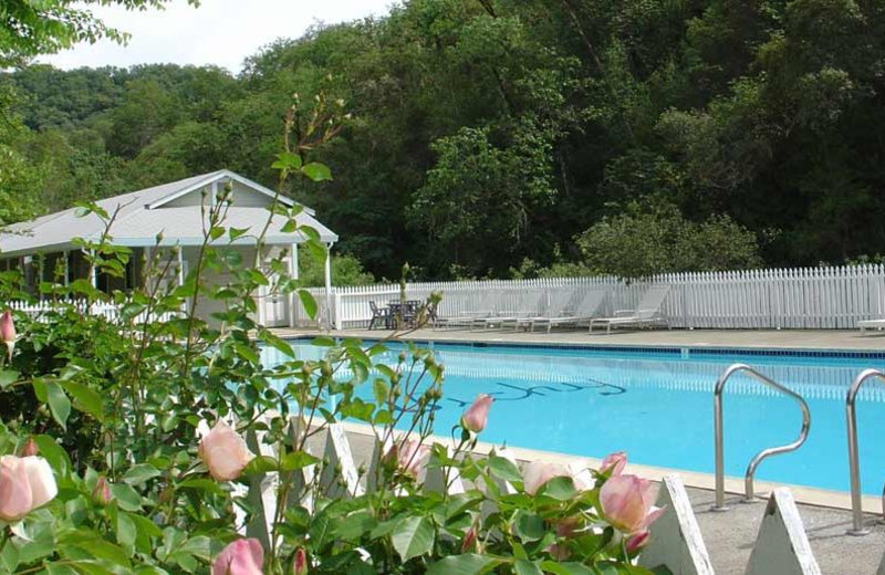 Outdoor pool at Vichy Hot Springs Resort and Inn.