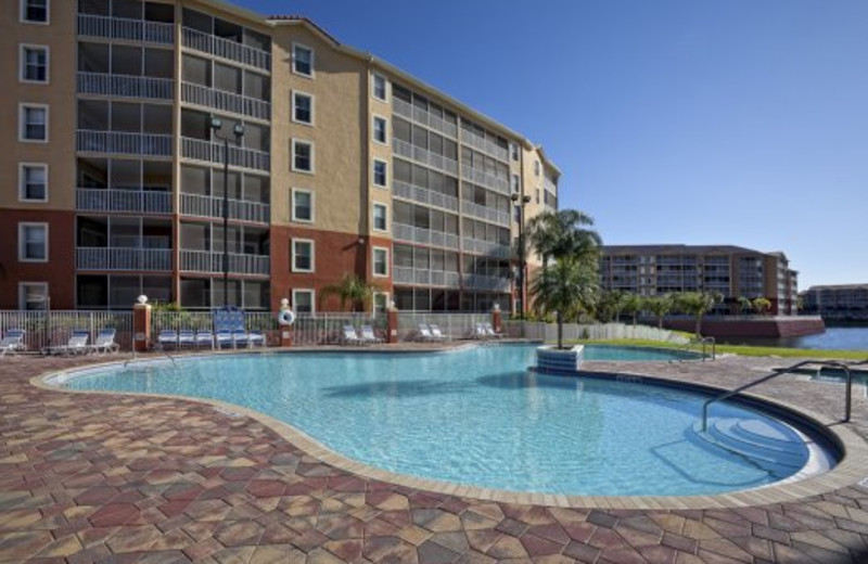 Outdoor pool at Westgate Town Center.