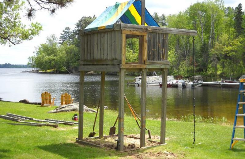 Playground at  Head-O-Lake Resort