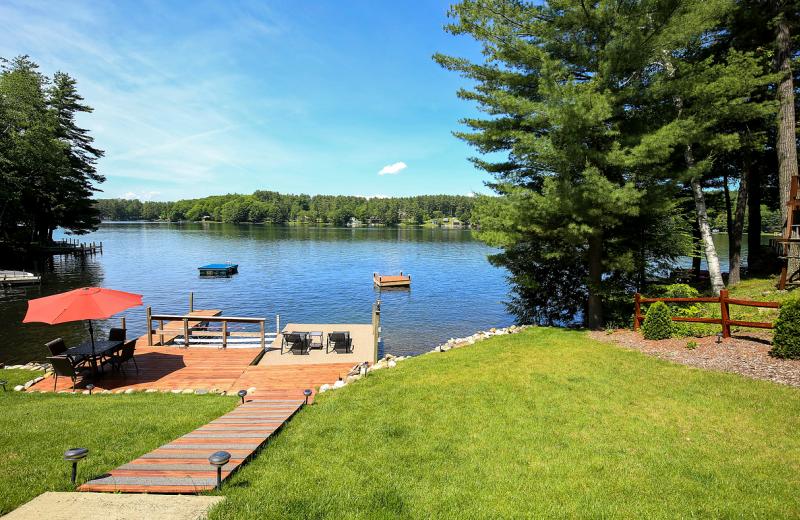 Lake view at Vacation Rentals by