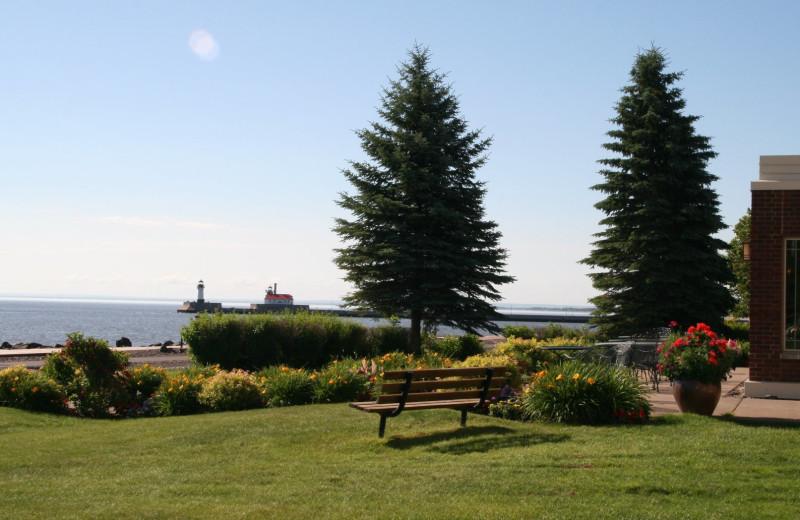 Lake view at Hampton Inn Duluth Canal Park.