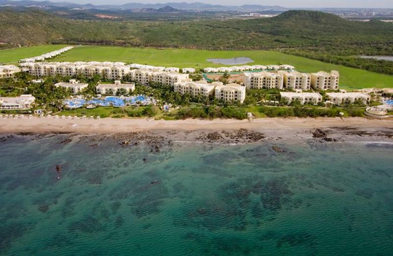 Exterior view of Pueblo Bonito Emerald Bay Resort.