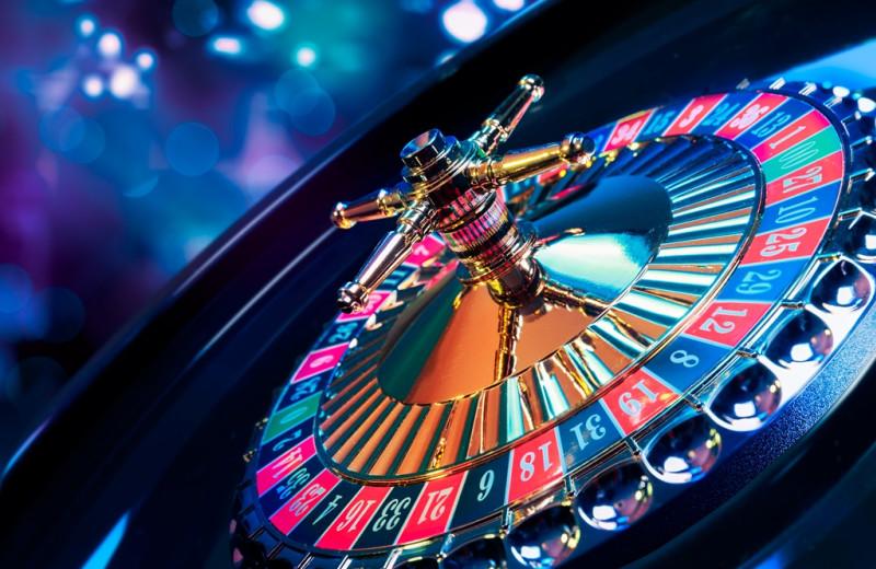 Roulette at Del Lago Resort & Casino.